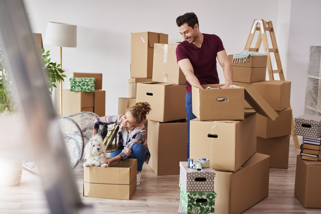 How To Pack The Living Room For Moving
